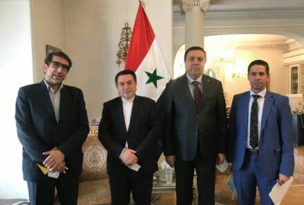 دیدار مدیرعامل شرکت شاهد با سفیر سوریه در ایران